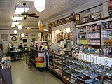 The store section of Schimpff's Confectionery, located inside the Old Jeffersonville Historic District of Jeffersonville.