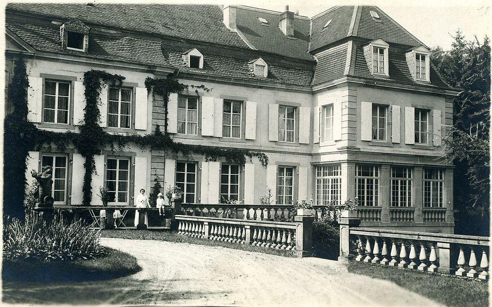 Castle Helleringen about 1916/17