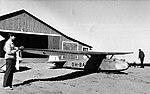 Schneider Granau Baby IIb OH-BAX at Jämijärvi airfield in 1950s.jpg