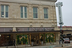 Kerrville, Texas - Schreiner's Department Store, the mainstay of downtown Kerrville