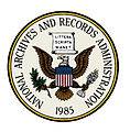 Seal of the National Archives and Records Administration (color with white background).jpg