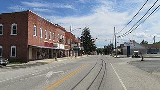Seaman, Ohio - Main Street
