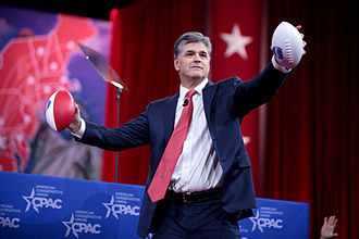 Sean Hannity - Sean Hannity speaking at the 2015 Conservative Political Action Conference in February 2015