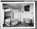 Second-floor bedroom, west front - Deshler-Morris House, 5442 Germantown Avenue, Philadelphia, Philadelphia County, PA HABS PA,51-GERM,30-5.tif