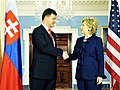 Secretary Clinton Meets With Slovak Foreign Minister (3582757775).jpg