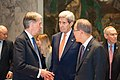 Secretary Kerry Awaits the Start of the UN Security Council Meeting on Syria (23224440114).jpg