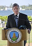 Secretary of Agriculture Tom Vilsack highlights renewable energy and the partnership between the U.S. Navy and the Department of Agriculture to promote biofuels Jan. 10, 2012, in Pearl Harbor, Hawaii 120110-N-RI884-145.jpg