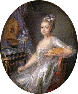 Adélaïde Labille-Guiard - Self-portrait, miniature