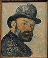Self Portrait with Bowler Hat by Paul Cézanne, 1883-1887 - Ny Carlsberg Glyptotek - Copenhagen - DSC09427.JPG