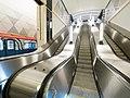 Seligerskaya station - escalators.jpg