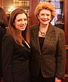Senator Stabenow meets with a Michigan constituent. (12934291624).jpg