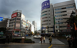 Sendai Station West Street 2008.jpg
