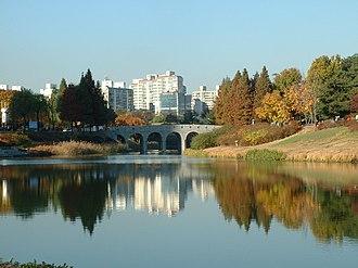 Korea Taekwondo Association - Image: Seoul Olympic.Park 01