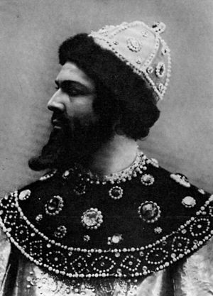 Boris Godunov (opera) - Shalyapin as Boris (1898)