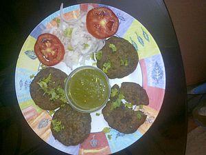 Awadhi cuisine - Shami Kebab
