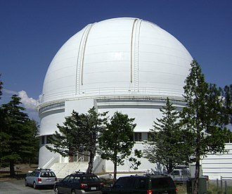C. Donald Shane telescope - The dome housing the Shane telescope
