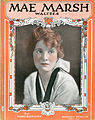 Sheet music cover - MAE MARSH WALTZES (1917).jpg
