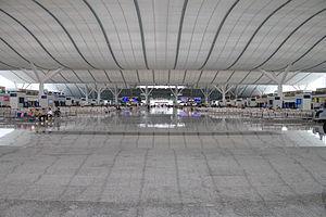 Shenzhen North Railway Station - Interior of Shenzhen North Railway Station, 2012