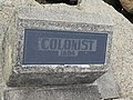 Ship marker colonist 1894.jpg