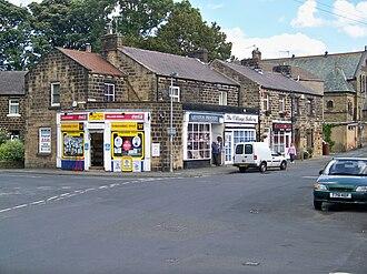 Menston - Image: Shops in Menston 1