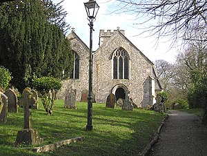 Shute, Devon - Image: Shute parish church geograph.org.uk 140475
