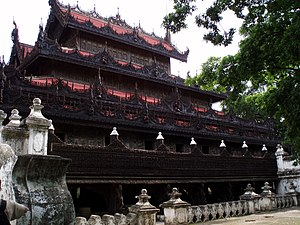 Shwenandaw Monastery - Image: Shwenandaw 3873595913 42570bcd 36