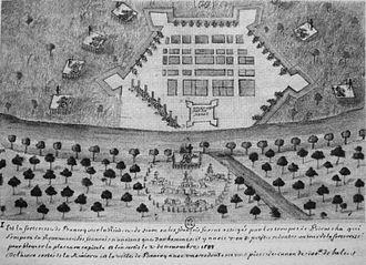 Siamese revolution of 1688 - Image: Siege of Bangkok 1688