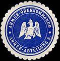Siegelmarke Armee-Oberkommando-Armee-Abteilung A W0285514.jpg