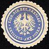 Siegelmarke Eisenbahn Direktions Bezirk Breslau - Betriebs - Amt Posen W0229477.jpg