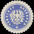 Siegelmarke Gemeinde Heudeber W0383065.jpg