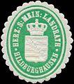 Siegelmarke H.S. Mein. Landrath Hildburghausen W0350308.jpg