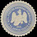 Siegelmarke K.Pr. General-Commando des VI. Armee-Corps W0356255.jpg