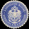 Siegelmarke K. Marine Kommando S.M.S. Schlesien W0364001.jpg