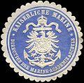 Siegelmarke Kaiserliche Marine - Direction der Marine - Academie & Schule W0215868.jpg
