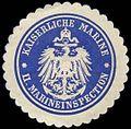 Siegelmarke Kaiserliche Marine - II. Marineinspection W0239795.jpg
