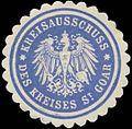 Siegelmarke Kreisausschuss des Kreises St. Goar W0328063.jpg