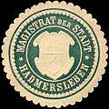 Siegelmarke Magistrat der Stadt - Hadmersleben W0217346.jpg