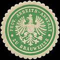 Siegelmarke Prov. Arbeits-Anstalt zu Brauweiler W0344243.jpg