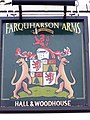 Sign for the Farquharson Arms - geograph.org.uk - 1657723.jpg