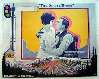 <i>The Signal Tower</i> 1924 film by Clarence Brown