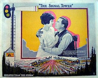 The Signal Tower - Lobby card