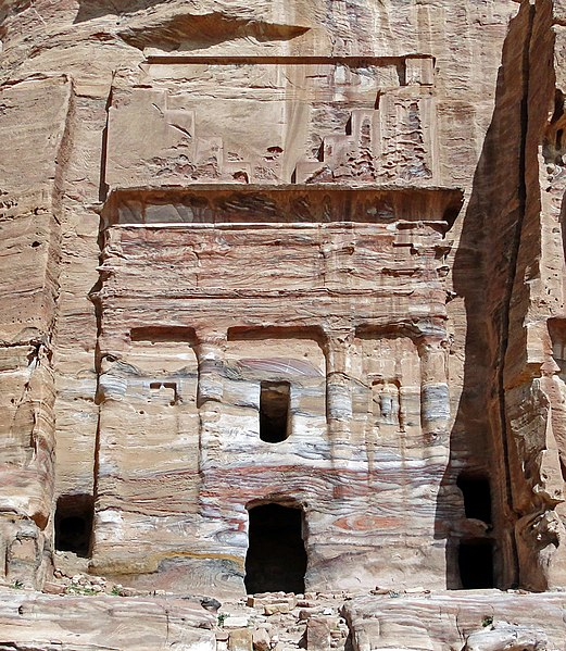 521px-Silk_Tomb%2C_Petra - Tomb designs - Lifestyle, Culture and Arts