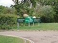 Silverstone Golf Club sign - geograph.org.uk - 430783.jpg