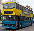 Simmonds bus (C157 HBA) 1986 Hong Kong tri-axle (KMB 3BL64, DH 5054), 2012 Slough & Windsor running day (1).jpg