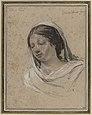 Simon Vouet--Woman wearing a white veil--Louvre.jpg