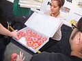 Simpsons 500th Episode Marathon - free donuts! (6804832224).jpg
