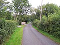 Single-track road north of Milltown - geograph.org.uk - 2112904.jpg