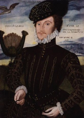 Thomas Coningsby - Sir Thomas Coningsby Painting attributed to George Gower