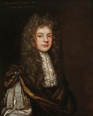Dudley Cullum - Sir Dudley Cullum, 3rd Bt.