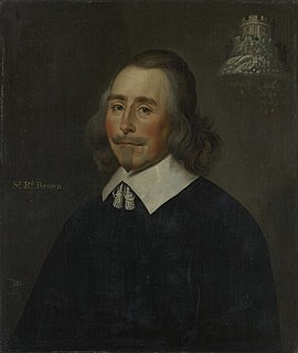 Sir Richard Browne, 1st Baronet, of London Major-General in the English Parliamentary army